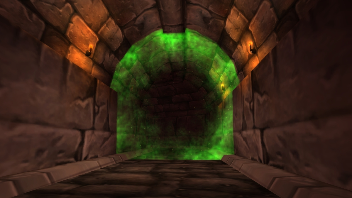 What's behind the raid portal in Stratholme?