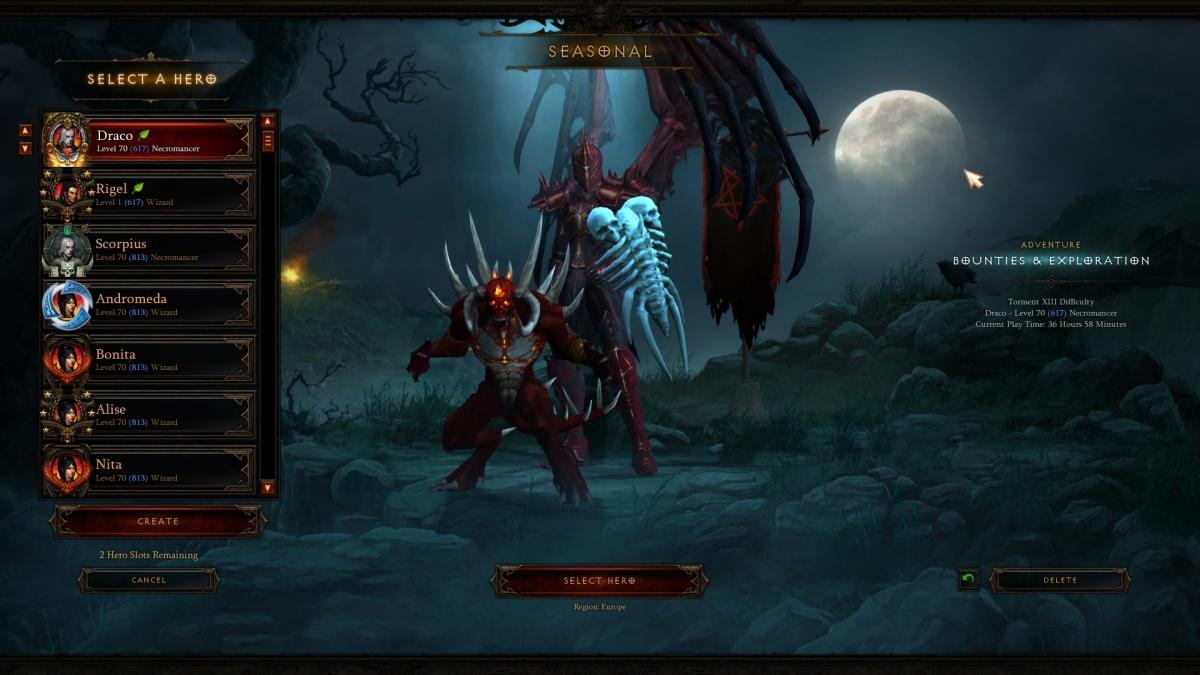 Diablo 3: Necromancer